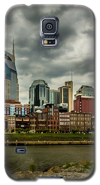 Tennessee - Nashville From Across The Cumberland River Galaxy S5 Case