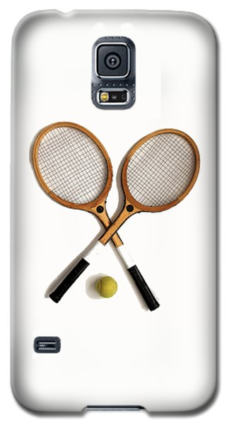 Tennis Sports Galaxy S5 Case by Tom Conway