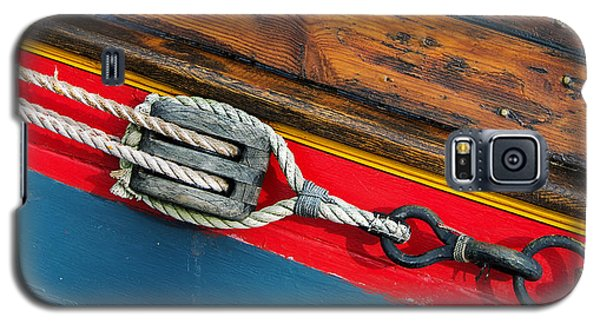 Tension On The Sailing Vessel Galaxy S5 Case