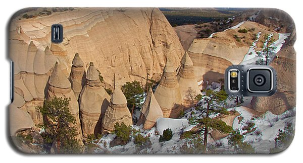 Galaxy S5 Case featuring the photograph Tent Rocks National Monument by Britt Runyon