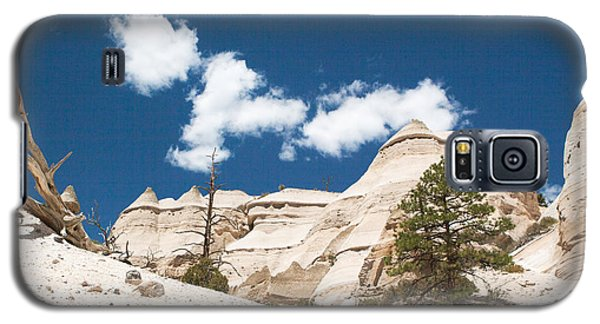 Galaxy S5 Case featuring the photograph High Noon At Tent Rocks by Roselynne Broussard
