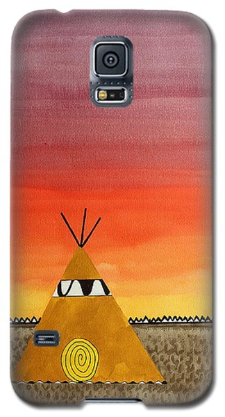 Tepee Or Not Tepee Original Painting Galaxy S5 Case