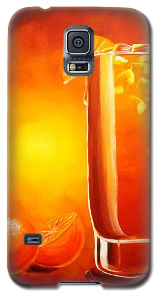 Tequila Sunrise Galaxy S5 Case