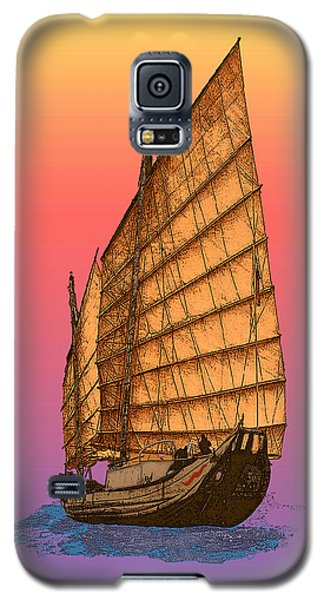 Tequila Sunrise Junk Galaxy S5 Case