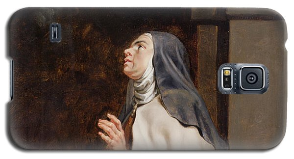 Teresa Of Avilas Vision Of A Dove Galaxy S5 Case by Peter Paul Rubens