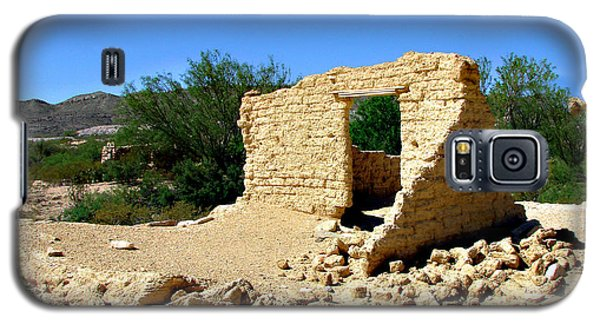 Terlingua Texas Ghost Town Galaxy S5 Case