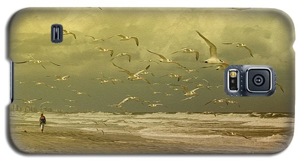 Terns In The Clouds Galaxy S5 Case