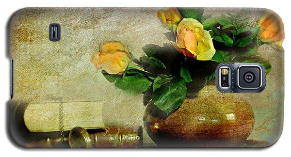 Terra Cotta Rose Galaxy S5 Case