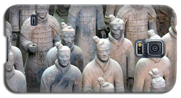Galaxy S5 Case featuring the photograph Terracotta Warriors by Kay Gilley