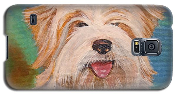 Terrier Portrait Galaxy S5 Case