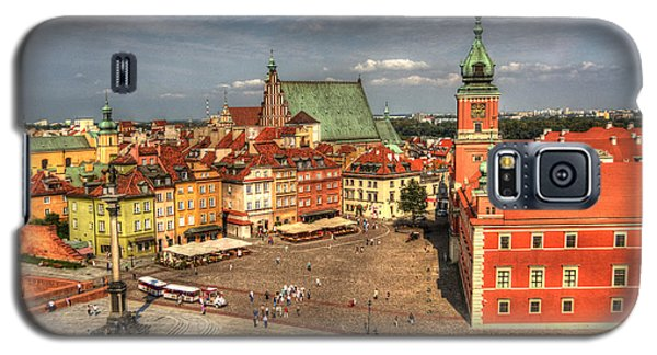 Terrific Warsaw - The Castle And Old Town View Galaxy S5 Case
