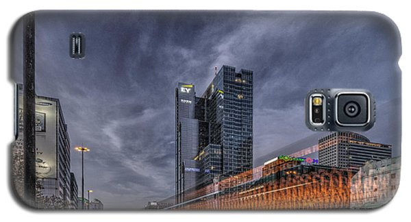 Terrific Warsaw With Zoom Perspective From Jerozolimskie To Rondo One Galaxy S5 Case