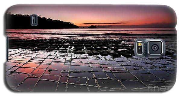 Tesselated Pavement Sunrise Galaxy S5 Case by Bill  Robinson