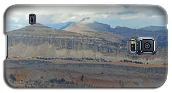 Galaxy S5 Case featuring the photograph Teton Canyon Shelf by Raymond Salani III