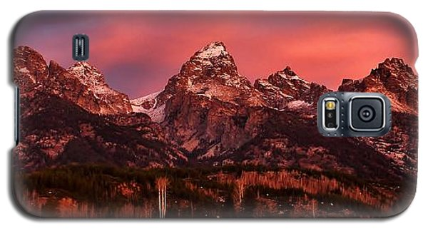 Galaxy S5 Case featuring the photograph Teton Color by Benjamin Yeager