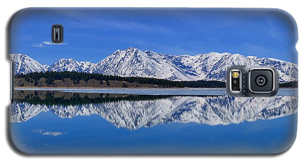 Teton End Of Winter Reflections Galaxy S5 Case