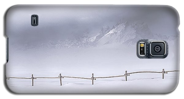 Galaxy S5 Case featuring the photograph Teton Morning by Priscilla Burgers