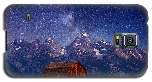 Mountain Galaxy S5 Case - Teton Nights by Darren  White