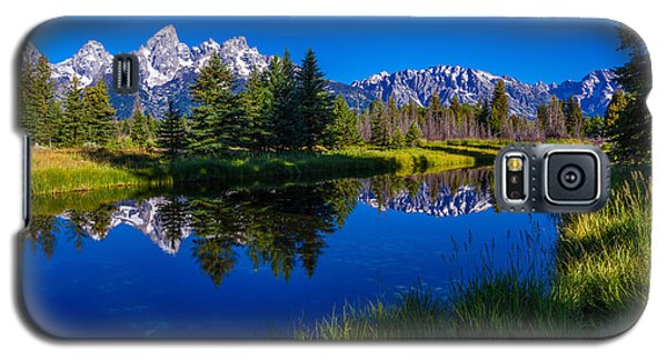 Teton Reflection Galaxy S5 Case by Chad Dutson