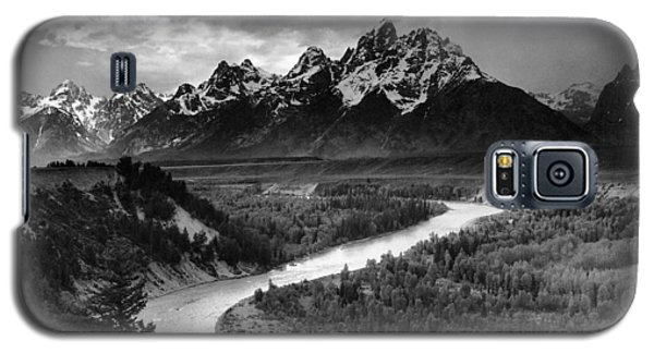 Tetons And The Snake River Galaxy S5 Case