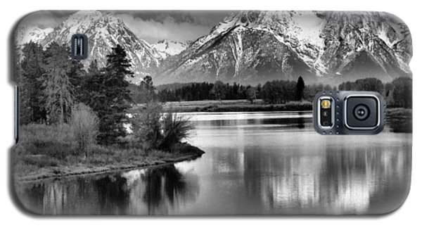 Tetons In Black And White Galaxy S5 Case
