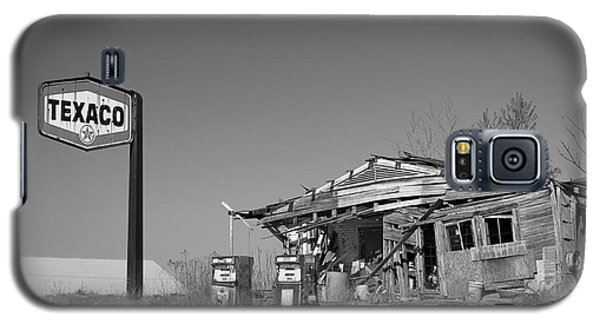 Texaco Country Store In Black And White Galaxy S5 Case