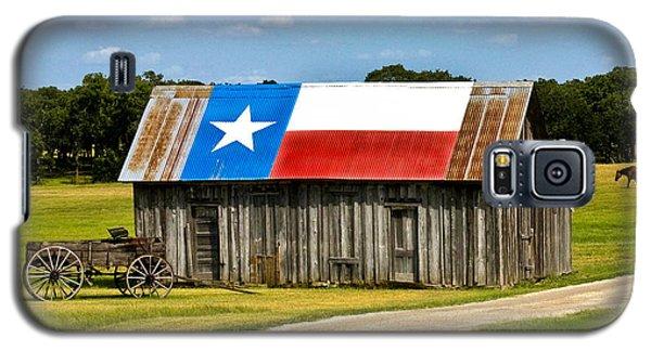 Texas Barn Flag Galaxy S5 Case