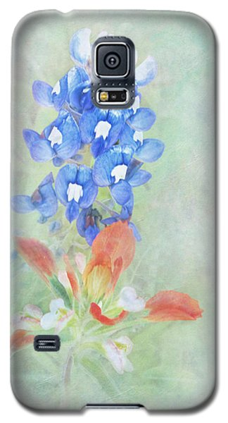 Texas Bluebonnet And Indian Paintbrush Galaxy S5 Case by David and Carol Kelly