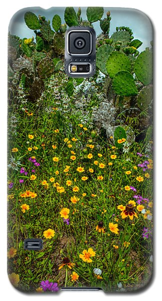 Texas Bouquet II Galaxy S5 Case