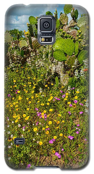 Texas Bouquet Galaxy S5 Case