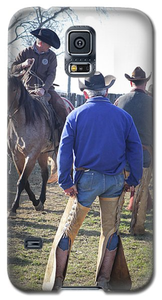 Texas Cowboy Galaxy S5 Case