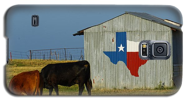 Texas Farm With Texas Logo Galaxy S5 Case