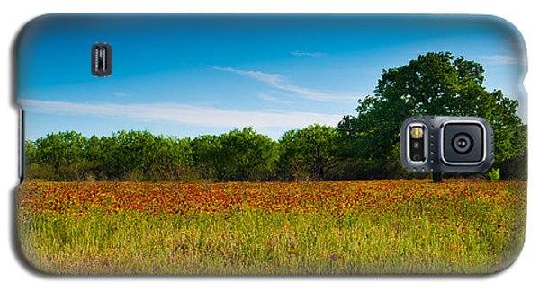 Galaxy S5 Case featuring the photograph Texas Hill Country Meadow by Darryl Dalton