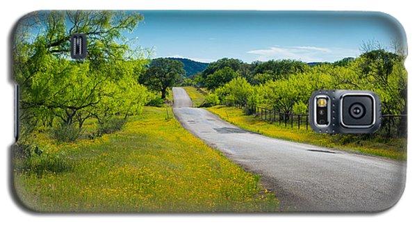 Texas Hill Country Road Galaxy S5 Case by Darryl Dalton