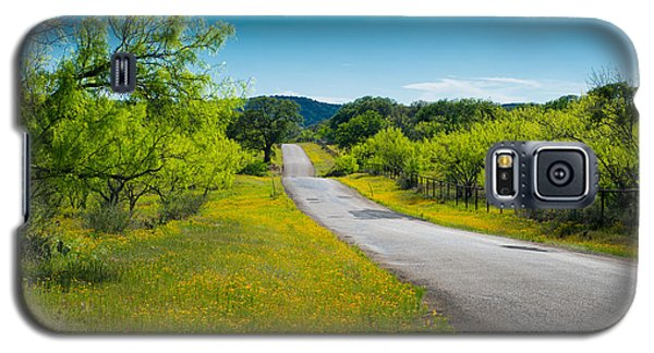 Texas Hill Country Road Galaxy S5 Case