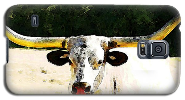Texas Longhorn - Bull Cow Galaxy S5 Case
