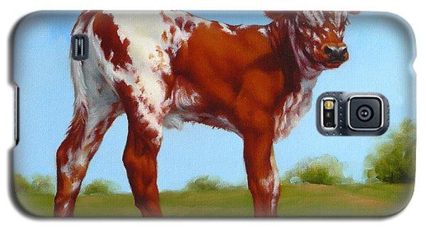Texas Longhorn New Calf Galaxy S5 Case