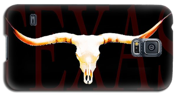 Texas Longhorns By Sharon Cummings Galaxy S5 Case by Sharon Cummings