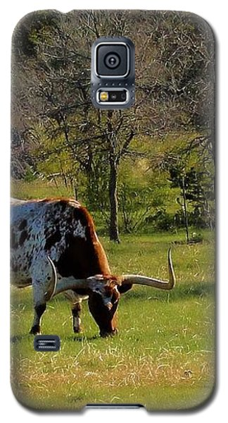 Texas Longhorns Galaxy S5 Case by Janette Boyd