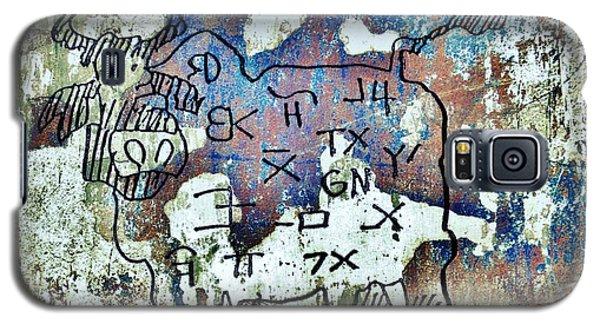 Texas Petroglyph Galaxy S5 Case