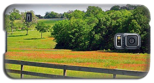 Texas Prairie - Gentle Hills In Springtime Galaxy S5 Case