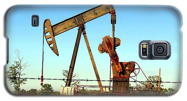 Texas Pumping Unit Galaxy S5 Case
