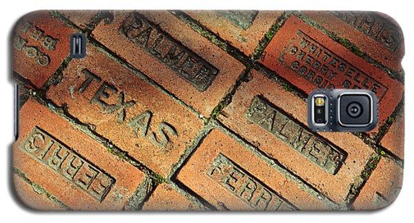 Texas Red Brick Galaxy S5 Case