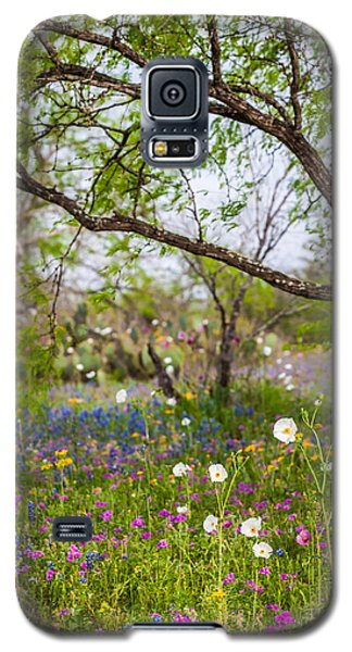 Texas Roadside Wildflowers 732 Galaxy S5 Case by Melinda Ledsome