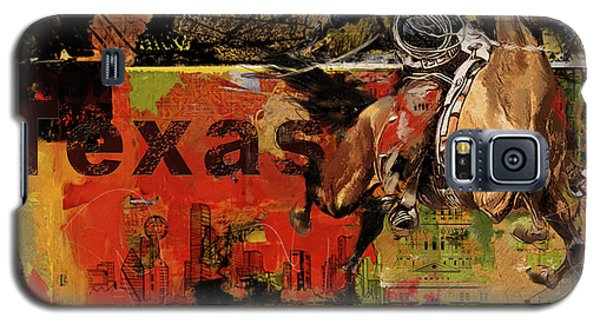Texas Rodeo Galaxy S5 Case by Corporate Art Task Force