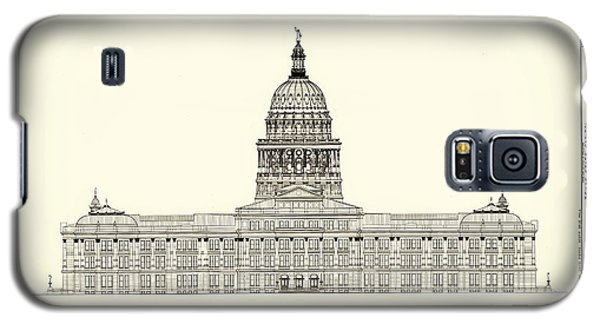 Texas State Capitol Architectural Design Galaxy S5 Case