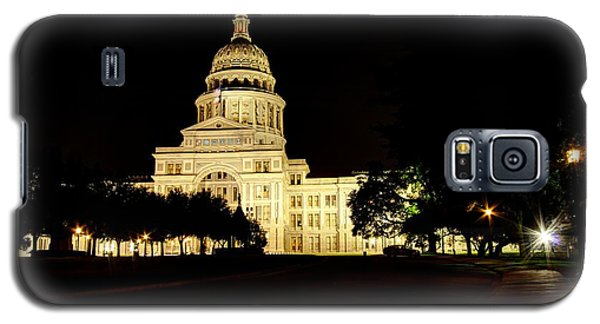 Galaxy S5 Case featuring the photograph Texas State Capitol by Dave Files
