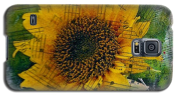 Texas Sunflower Yellow Galaxy S5 Case