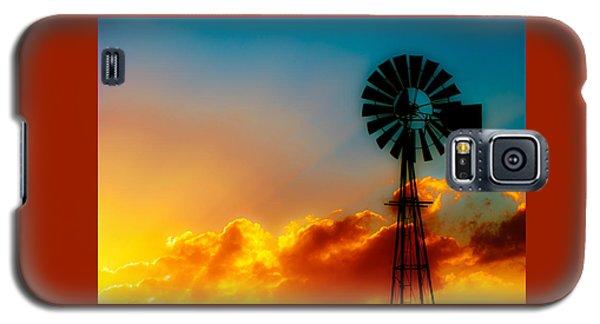 Texas Sunrise Galaxy S5 Case