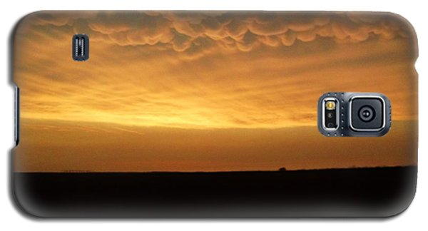 Galaxy S5 Case featuring the photograph Texas Sunset by Ed Sweeney
